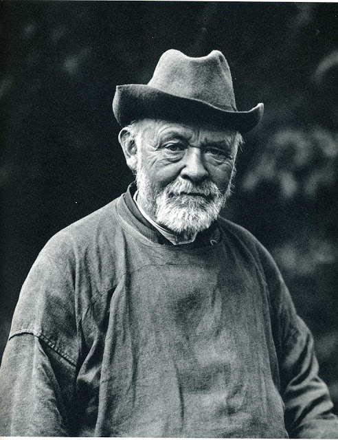 August Sander - old man hat