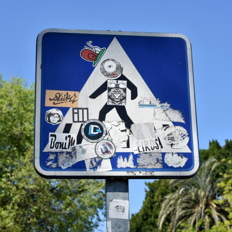 FL - Sevilla — road sign revisited
