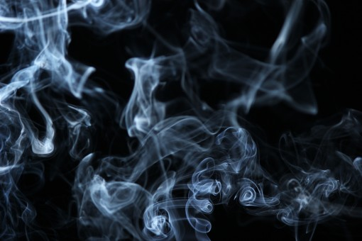 smoke_illuminated_white_background_black-903503