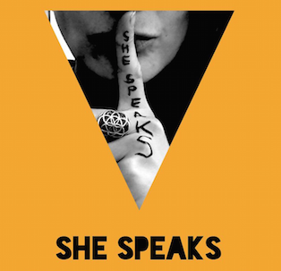 She Speaks Badge