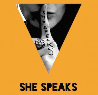 She Speaks Badge