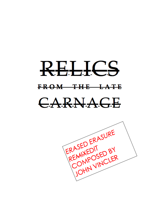 RELICs cover