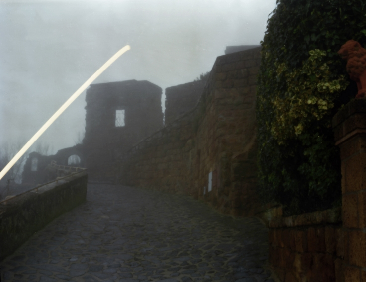 Full moon and walkway into Civita_JanetNeuhauser(Photo)